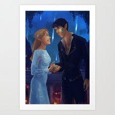 Starfall Art Print