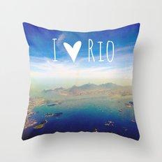 I love Rio Throw Pillow