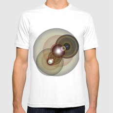 goggle eyes Mens Fitted Tee SMALL White