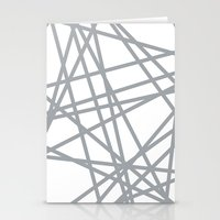 To The Edge Grey Stationery Cards