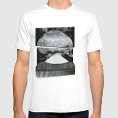 Fashion Mens Fitted Tee SMALL White