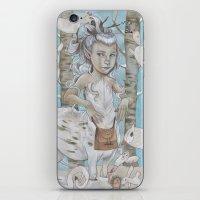 WINTER CENTAUR iPhone & iPod Skin
