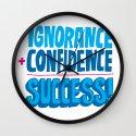 Success Wall Clock