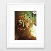 The Lich Framed Art Print