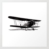Fairchild KR-21 Art Print