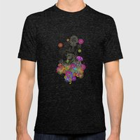 A TRIP Mens Fitted Tee Tri-Black SMALL