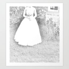 WHITEOUT : Ghost Bride Art Print