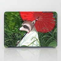 Raccoon iPad Case