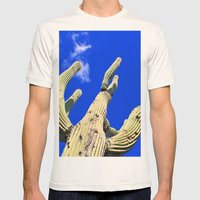 A Big One Mens Fitted Tee Natural SMALL