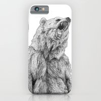 iPhone & iPod Case featuring Bear by Kirsten McNee