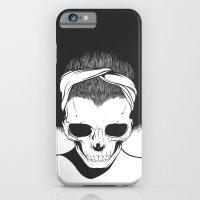 SKull GIrls 2 - Sky Teal iPhone 6 Slim Case