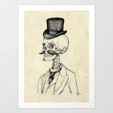 Old Gentleman  Art Print