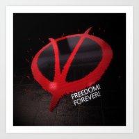 Freedom Forever Art Print