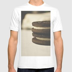 oreos Mens Fitted Tee SMALL White