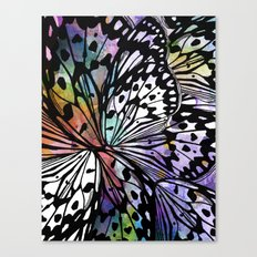 BUTTERFLY WINGS ABSTRACT Canvas Print