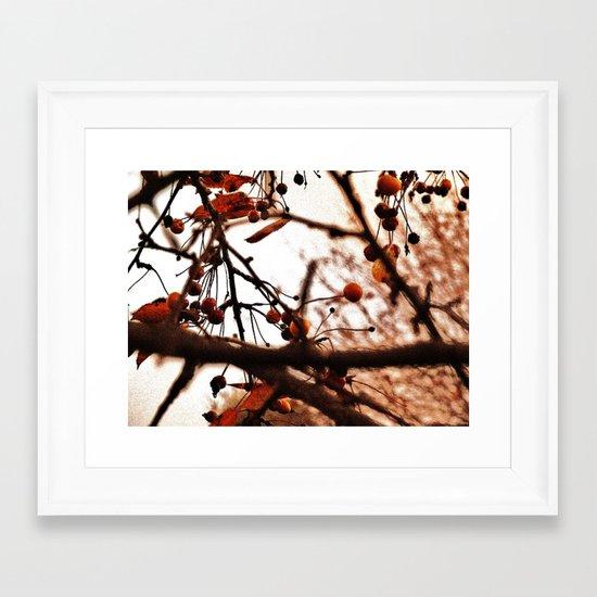 Berry Farm Framed Art Print