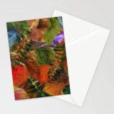 Autumn Leaf Fall 2 Stationery Cards