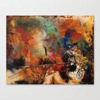 Untamed Passion Canvas Print