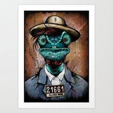 The Usual Suspects // El… Art Print