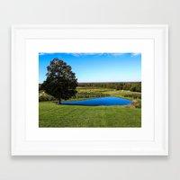 Mapleside Farms Framed Art Print