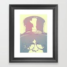 Slash Framed Art Print