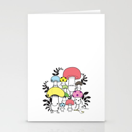 WELCOME TO MUSHROOM LAND - EP.547 VE Stationery Card