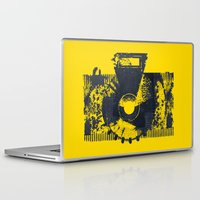 camera Laptop & iPad Skins featuring Camera by Lucas del Río