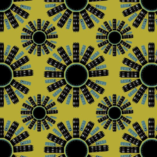 London Pattern Art Print
