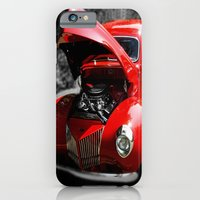 Hot Rod Red iPhone 6 Slim Case