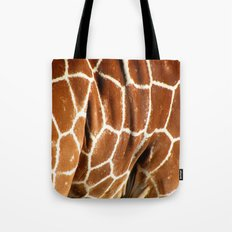 Giraffe Skin Close-up Tote Bag