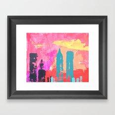 Seven Thirty Framed Art Print