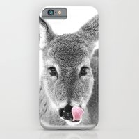 iPhone Cases featuring DEER LICK by Christina Lynn Williams