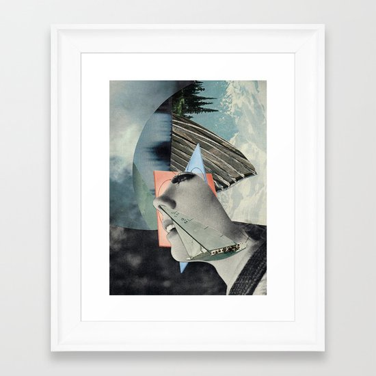 Deolinda Framed Art Print