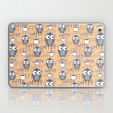 Owl orange pattern  Laptop & iPad Skin