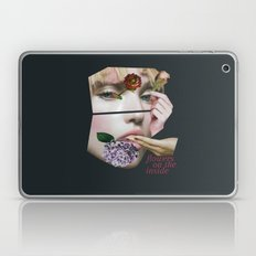 Flowers On The Inside Laptop & iPad Skin