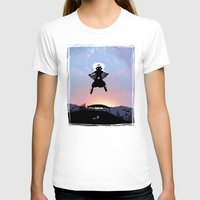 Storm Kid Womens Fitted Tee White SMALL