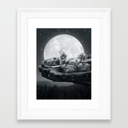 Framed Art Print - Echoes of a Lullaby - soaring anchor designs