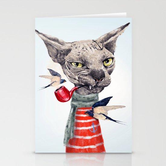 Sphynx cat Stationery Card