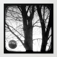 Lunar - Through The View… Canvas Print