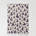Triangles Are My Favorite Shape Stationery Cards