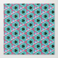 Jfivetwenty Tessellatio… Canvas Print