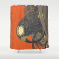SongBird - BioShock Infi… Shower Curtain