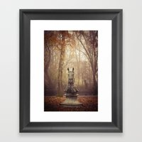 Your move Framed Art Print