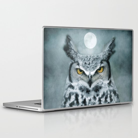By the light of the Moon... Laptop & iPad Skin