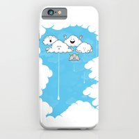iPhone & iPod Case featuring Young Clouds fooling around by Fabian Gonzalez