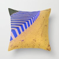 Curbed Throw Pillow
