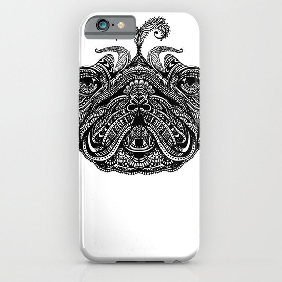 Henna of Pugly iPhone & iPod Case