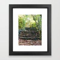 Stairways Framed Art Print