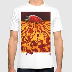Sweet Nothing SMALL Mens Fitted Tee White