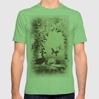 Innocence  Mens Fitted Tee Grass SMALL